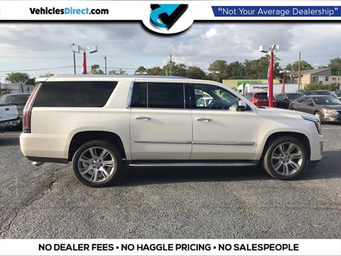 2015 Cadillac Escalade ESV for sale in Charleston, SC