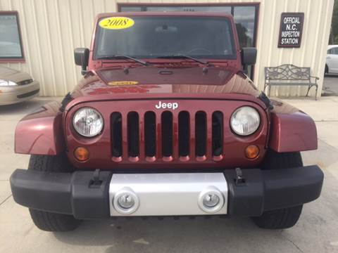 2008 Jeep Wrangler Unlimited for sale in Shelby, NC