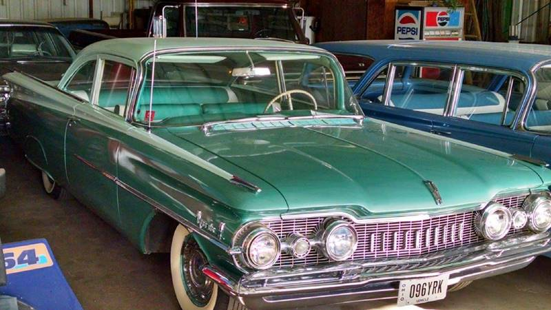 1959 Oldsmobile Eighty-Eight for sale at Dendinger Bros Auto Sales & Service in Bellevue OH