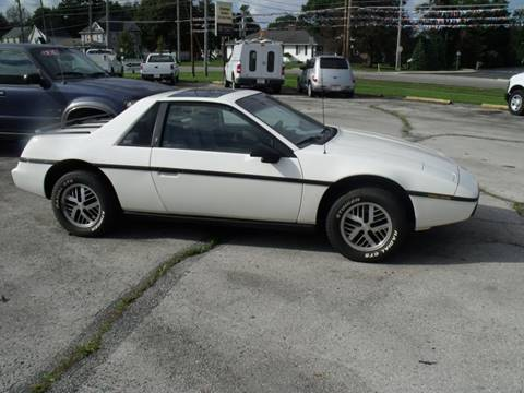 1984 Pontiac Fiero for sale in Bellevue, OH