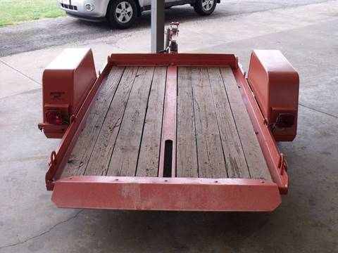 -1 Ditch Witch 8x5  Tilt Bed Trailer