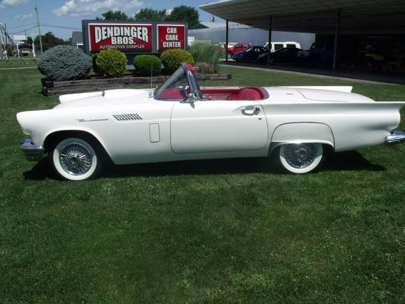 1957 ford thunderbird in bellevue oh dendinger bros auto sales contact publicscrutiny Images