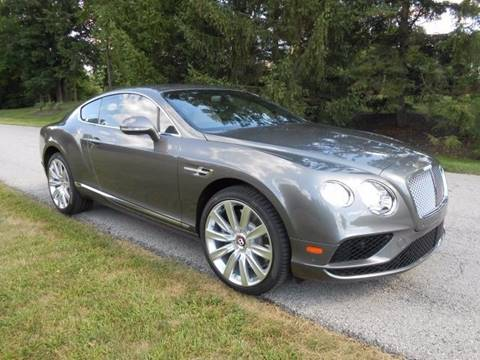 2016 Bentley Continental GT V8 for sale in Zionsville, IN