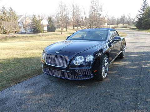 2017 Bentley Continental GTC V8 for sale in Zionsville, IN