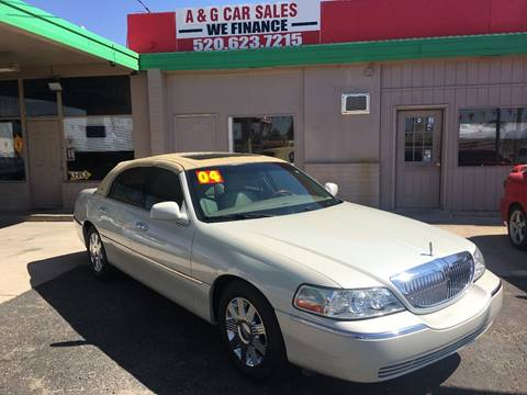 2004 Lincoln Town Car for sale in Tucson, AZ