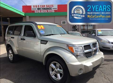 2009 Dodge Nitro for sale at A&G Car Sales  LLC in Tucson AZ