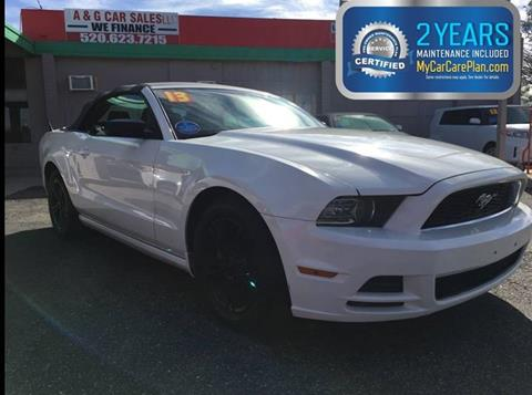 2013 Ford Mustang for sale in Tucson, AZ