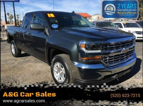 2018 Chevrolet Silverado 1500 for sale at A&G Car Sales  LLC in Tucson AZ