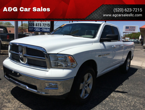 2012 RAM Ram Pickup 1500 for sale at A&G Car Sales  LLC in Tucson AZ