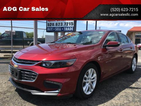 2018 Chevrolet Malibu for sale at A&G Car Sales  LLC in Tucson AZ