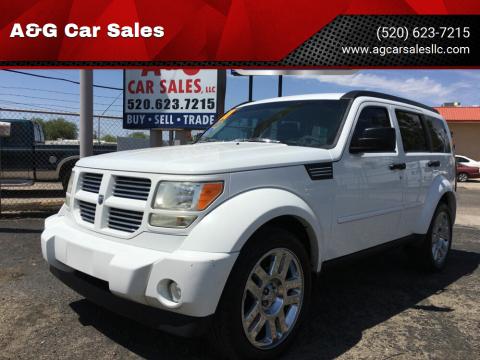 2011 Dodge Nitro for sale at A&G Car Sales  LLC in Tucson AZ