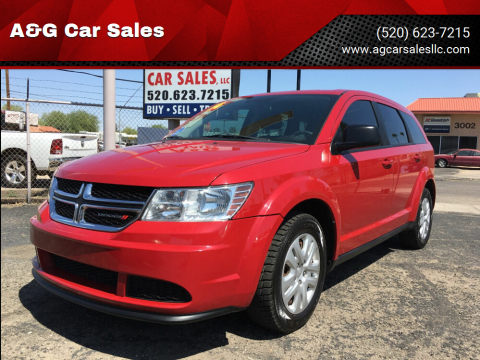 2014 Dodge Journey for sale at A&G Car Sales  LLC in Tucson AZ