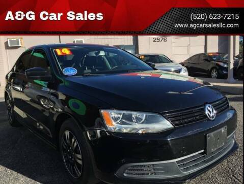 2014 Volkswagen Jetta for sale at A&G Car Sales  LLC in Tucson AZ