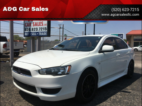 2014 Mitsubishi Lancer for sale at A&G Car Sales  LLC in Tucson AZ