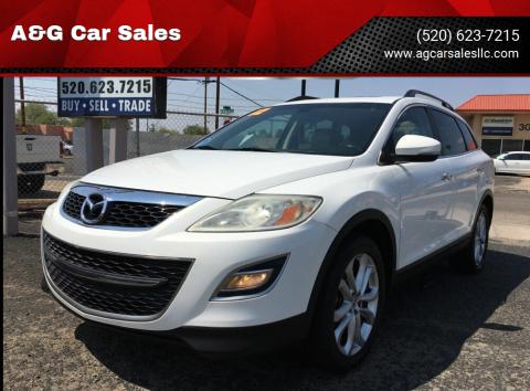 2012 Mazda CX-9 for sale at A&G Car Sales  LLC in Tucson AZ