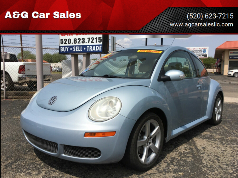 2010 Volkswagen New Beetle for sale at A&G Car Sales  LLC in Tucson AZ