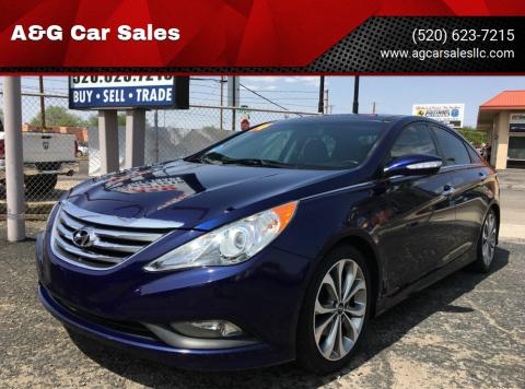 2014 Hyundai Sonata for sale at A&G Car Sales  LLC in Tucson AZ