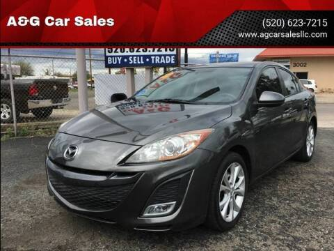 2011 Mazda MAZDA3 for sale at A&G Car Sales  LLC in Tucson AZ