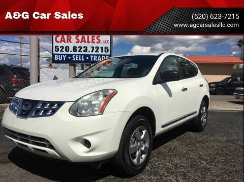 2013 Nissan Rogue for sale at A&G Car Sales  LLC in Tucson AZ
