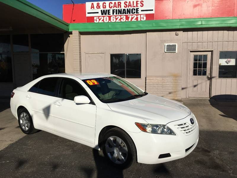 2009 Toyota Camry for sale at A&G Car Sales  LLC in Tucson AZ