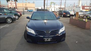 2010 Toyota Camry for sale in Van Nuys, CA