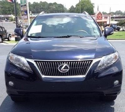 2010 Lexus RX 350 for sale in Hueytown AL