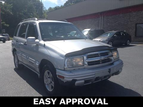 2002 Chevrolet Tracker for sale in Hueytown, AL