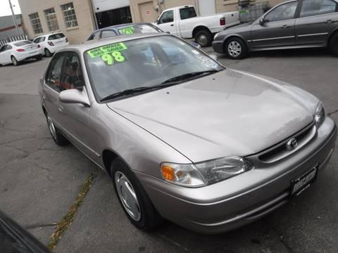 1998 Toyota Corolla For Sale in Rhode Island  Carsforsalecom