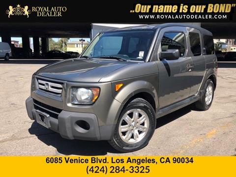 Lovely 2007 Honda Element For Sale In Los Angeles, CA