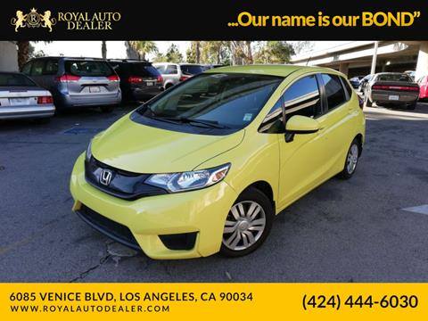 2015 Honda Fit for sale in Los Angeles, CA