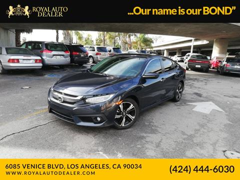 2016 Honda Civic for sale in Los Angeles, CA