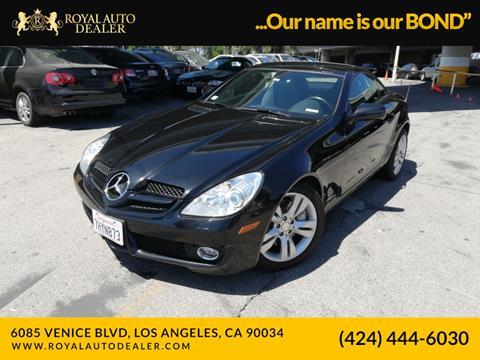 2009 Mercedes-Benz SLK for sale in Los Angeles, CA