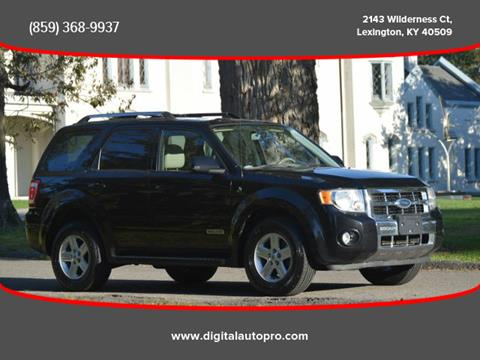 2008 Ford Escape Hybrid for sale in Lexington, KY