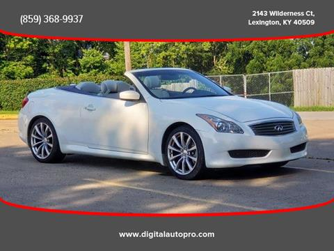 2009 Infiniti G37 Convertible for sale in Lexington, KY