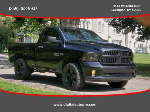 Used Trucks For Sale In Ky >> 2014 Ram Ram Pickup 1500 For Sale In Lexington Ky