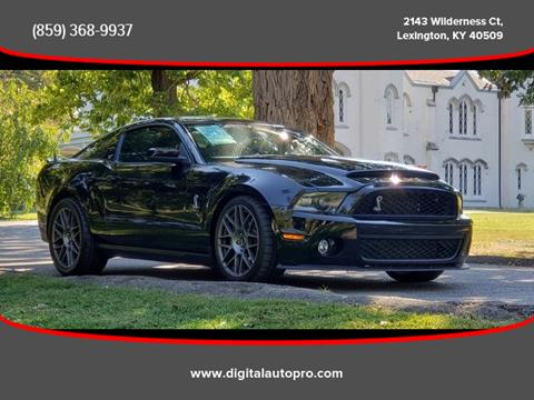2010 Ford Shelby GT500 for sale in Lexington, KY