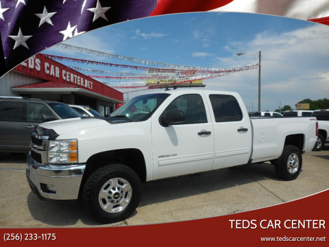 2013 Chevrolet Silverado 2500HD for sale at TEDS CAR CENTER in Athens AL