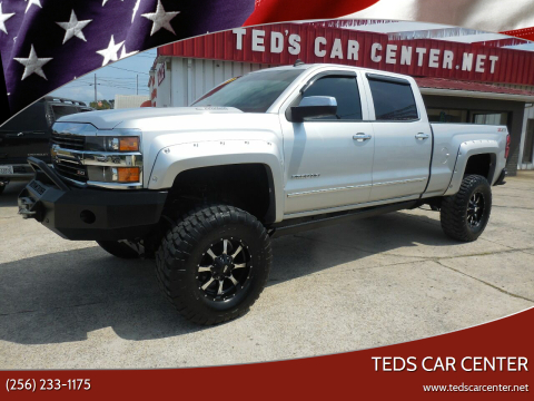 2015 Chevrolet Silverado 2500HD for sale at TEDS CAR CENTER in Athens AL