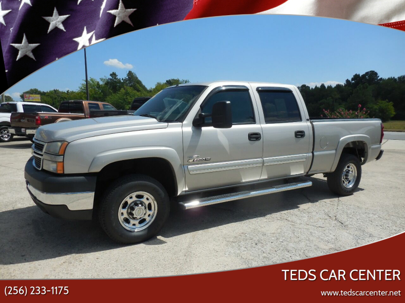 2007 Chevrolet Silverado 2500HD Classic for sale at TEDS CAR CENTER in Athens AL