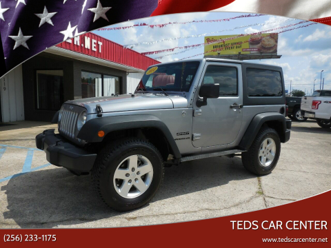2014 Jeep Wrangler for sale at TEDS CAR CENTER in Athens AL