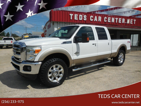 2012 Ford F-250 Super Duty for sale at TEDS CAR CENTER in Athens AL