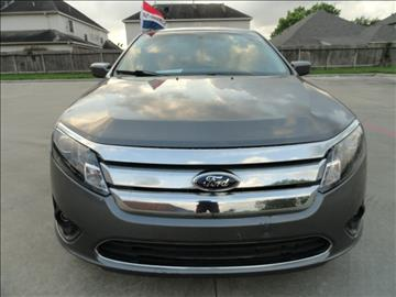 2011 Ford Fusion for sale in Katy, TX