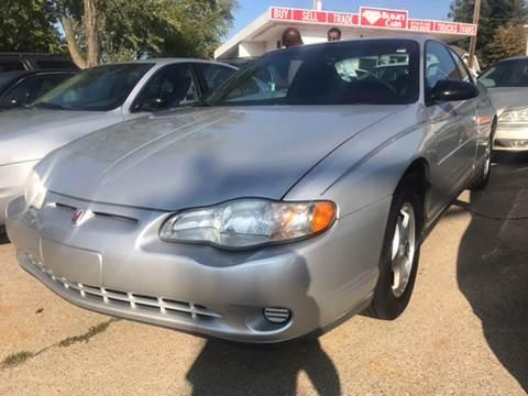 2000 Chevrolet Monte Carlo for sale in Michigan City, IN