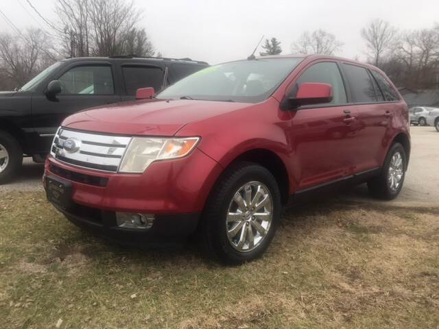Ford Edge Awd Sel Dr Crossover Michigan City In