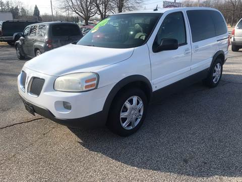 2008 Pontiac Montana for sale in Michigan City, IN