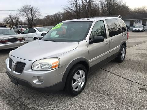 2009 Pontiac Montana SV6 for sale in Michigan City, IN