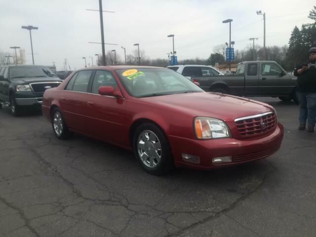 2001 Cadillac Deville Dts 4dr Sedan In Michigan City In Budjet Cars