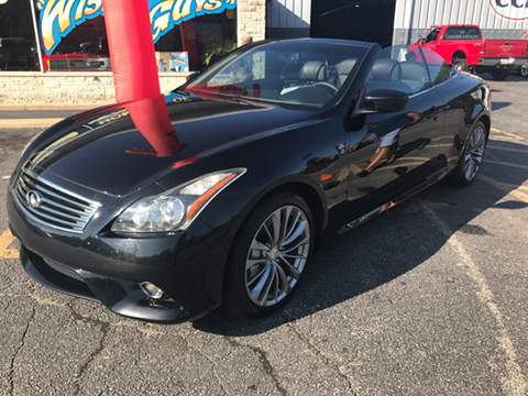 2011 Infiniti G37 Convertible for sale in Michigan City, IN