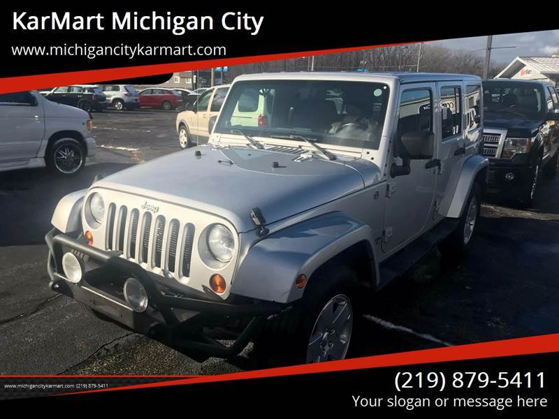 2012 Jeep Wrangler Unlimited for sale in Michigan City, IN