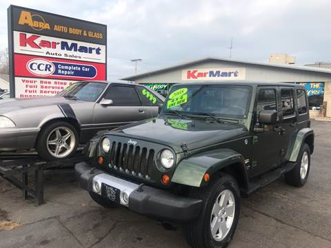 2008 Jeep Wrangler Unlimited for sale in Michigan City, IN